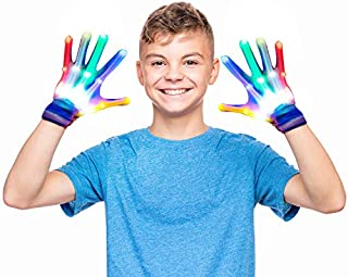 Tesoky Colorful Flashing Gloves -Best Gift
