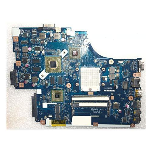 YLYWCG Tablero de reemplazo de computadora Placa Base De Cuaderno Fit For Acer Aspire 5551 5551G 5552 5552G Placa Madre Portátil New75 LA-5911P HD5650M 1GB Placa Base de computadora de Escritorio