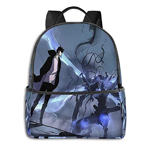 zhengdong Manhwa Solo Leveling School Bag Palestra Escursionismo Rusa Laptop Bapa Teens Boy And Girl Travel Busines Daypa