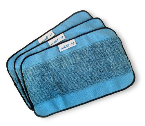 Cheapest Price! Mint Microfiber Mopping Cloths 3 Pack