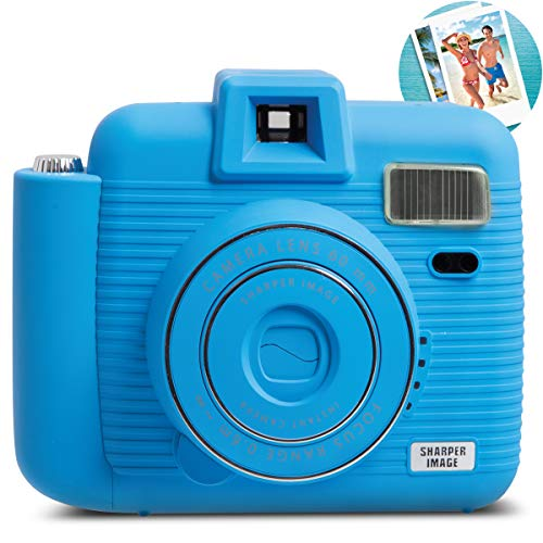 SHARPER IMAGE Instant Camera with Flash & 5 Lighting...