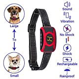 🐾This Humane Anti Bark Collar will work great with your dog. Just put the collar on and see how your dog will learn how to stop barking. 🐾Very easy to use, you can stop your dog's barking without any stress, anger or anxiety-causing shocks. GHOST No ...