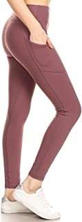 High Waisted Leggings -Soft & Slim - Solid Colors & 1000+...