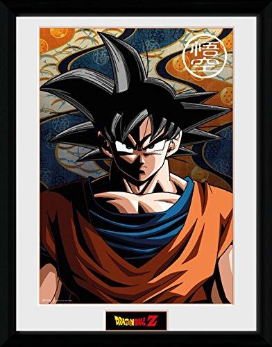 1art1 Dragon Ball Poster De Collection Encadré - Goku (40 x 30 cm)