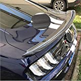 XTT Alerón Trasero para Maletero Apto para Ford Mustang Coupe 2015-2020 V6 V8 GT Shelby GT350R alerón Trasero de Fibra de Carbono para Maletero