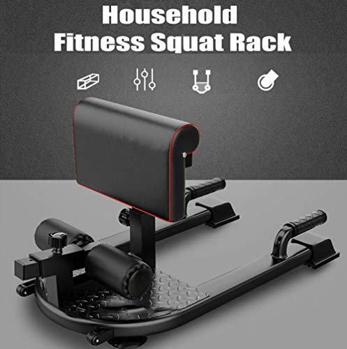 Product Image 6: Thole Household Fitness Squat Rack 3-in-1 Sit Ups Push Ab Home Gym Buttocks Workout Machine for Fitness Equipment Exerciser