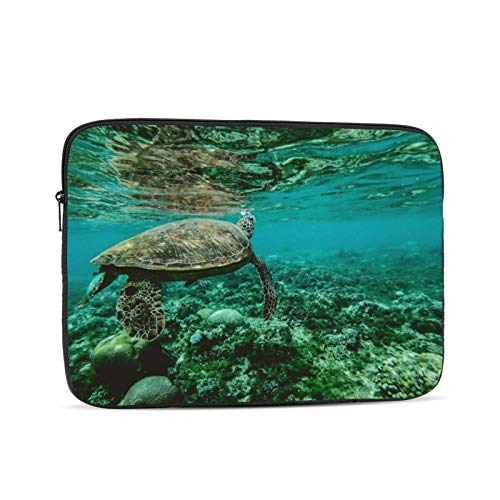 KXT Turtle Underwater Laptop Sleeve,Carrying Bag Chromebook Case Notebook Bag Tablet Cover