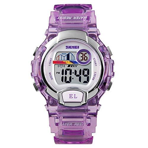 Relógio Digital, Skmei, Meninos, Roxo