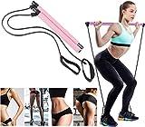 Syliver Set di elastici con 3 livelli di difficoltà di carica, fitness, yoga, pilates