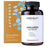 Kurkraft® Hyaluronsäure Kapseln - 500mg - Natürlich fermentiert - Vegan - 500-700 kDa -...