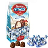 Witor's Praline Bianco Cuore 1000g Beutel (Milch-Creme & Cerealien)