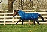 Turnout 1680D Horse Winter Waterproof with Neck Cover - Horse Blanket 002 - Size from 69' to 83' (72')