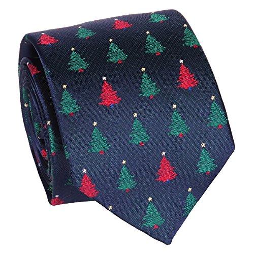 Weihnachten Krawatte - Tannenbaum Krawatte - Heiligabend Krawatte