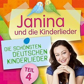 Die schönsten deutschen Kinderlieder, Teil 4