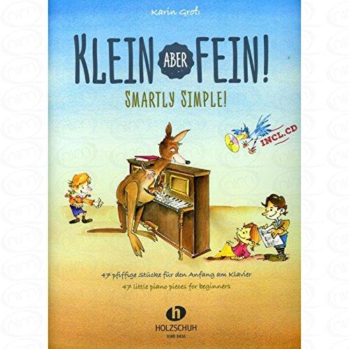 KLEIN ABER FEIN - arrangiert für Klavier - mit CD [Noten/Sheetmusic] Komponist : GROSS KARIN