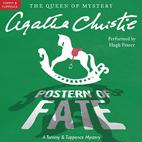 Postern of Fate audiobook cover art