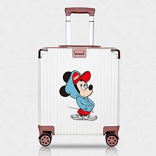 JZLMF Adesivo per valigia con motivo marittimo di Topolino, impermeabile