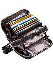 メンズ レディース 本革 財布 クレジット カード ケース 磁気 防止 スキミング防止 RFID カード入れ