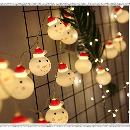 nobranded Decoraciones de Navidad, accesorios para el hogar, árbol de Navidad, Papá Noel, luces decorativas, luces LED de alambre de cobre, colgantes decorativos y colgantes