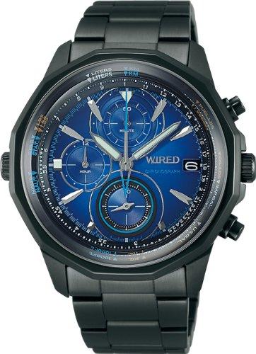 『[セイコーウォッチ] 腕時計 ワイアード The Blue-Sky クオーツ AGAW421 ブラック』のトップ画像