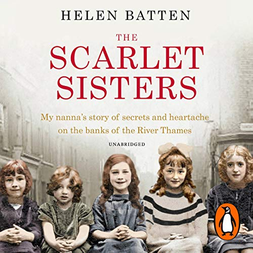 The Scarlet Sisters audiobook cover art
