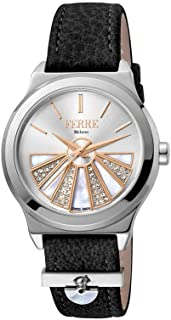 Ferre Milano Casual Watch For Women Analog Leather - FM1L125M0011