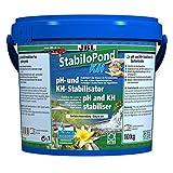 JBL pH- und KH-Stabilisator für Gartenteiche, Granulat für 100.000 l Teichwasser, StabiloPond KH, 10 kg