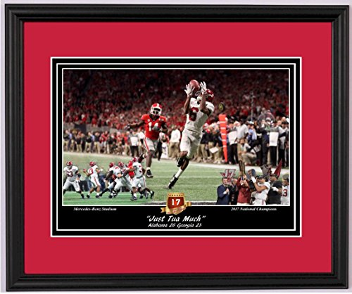 Jems Online Inc. Alabama Football Beats Georgia to Win The 2017 National Championship! - Framed Art Print