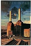 LGHLJ Laminas para Cuadros Póster de Animal de Acuario Pink Floyd, Pintura Decorativa, Lienzo, Poster artísticos de Pared, Pintura 40x60cm x1 Sin Marco