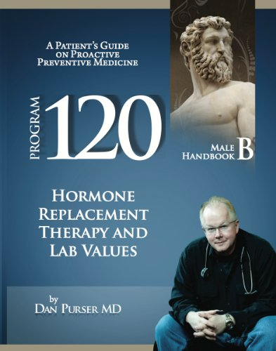 Program 120 Male Handbook B: A Referenced Guide to Testosterone, Thyroid, HGH Human Growth Hormone, High Blood Pressure, Hypertension, Impotence, Osteoporosis, ... Medicine Patient Handbooks for Males 2)