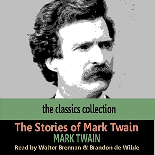 The Stories of Mark Twain audiobook cover art