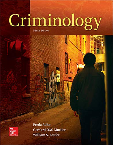 Compare Textbook Prices for LooseLeaf for Criminology 9 Edition ISBN 9780078140969 by Adler, Freda,Laufer, William,Mueller, Gerhard O.