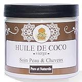 Aceite de Coco Puro y Natural - El cuidado del Cabello, Cara y Cuerpo - 200ml