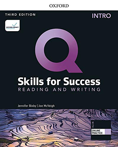 Q Skills for Success Reading and Writing, Intro Level 3rd Edition Student book and IQ Online Access (Q Skills for Success 3th Edition)
