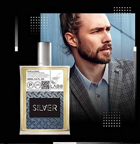Perfume LAB 8 Silver 100ml - Inspirado em Silver Scent