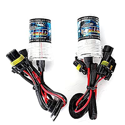 ZHANGAO Pairs H11 35W 55W Car Xenon HID Replacement Bulbs Decorative lights (Color : Temperature 15000K)