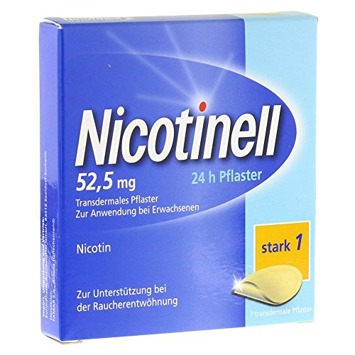 NICOTINELL 52,5mg 24-Stunden Pflaster transdermal 7St 1261984