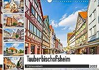 Tauberbischofsheim Impressionen (Wandkalender 2022 DIN A3 quer): Die Stadt Tauberbischofsheim dargestellt auf zwoelf einmaligen Bildern (Monatskalender, 14 Seiten )