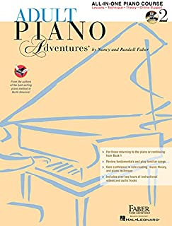 Adult Piano Adventures All-In-One Lesson Book 2: Book with CD, DVD and Online Support