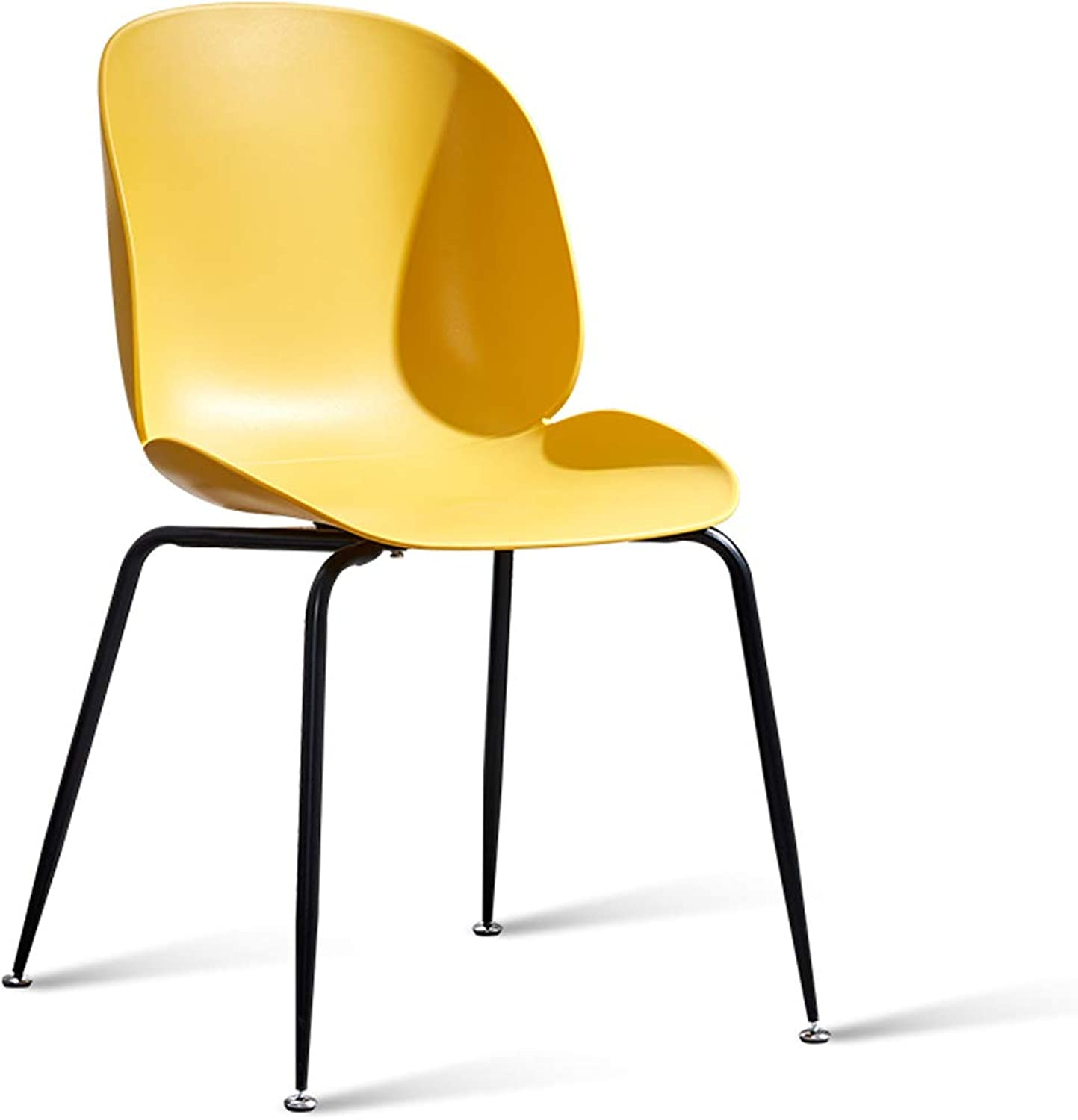 LRW Nordic Chairs, Modern Dining Chairs, Home Desks, Chairs, Leisure Backrest Stools, Yellow