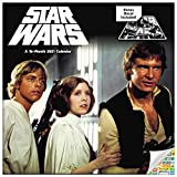 Date works Classic Star Wars Calendar 2021 Bundle - Deluxe 2021 Star Wars Saga Wall Calendar with Over 100 Calendar Stickers (Original Star Wars Gifts)