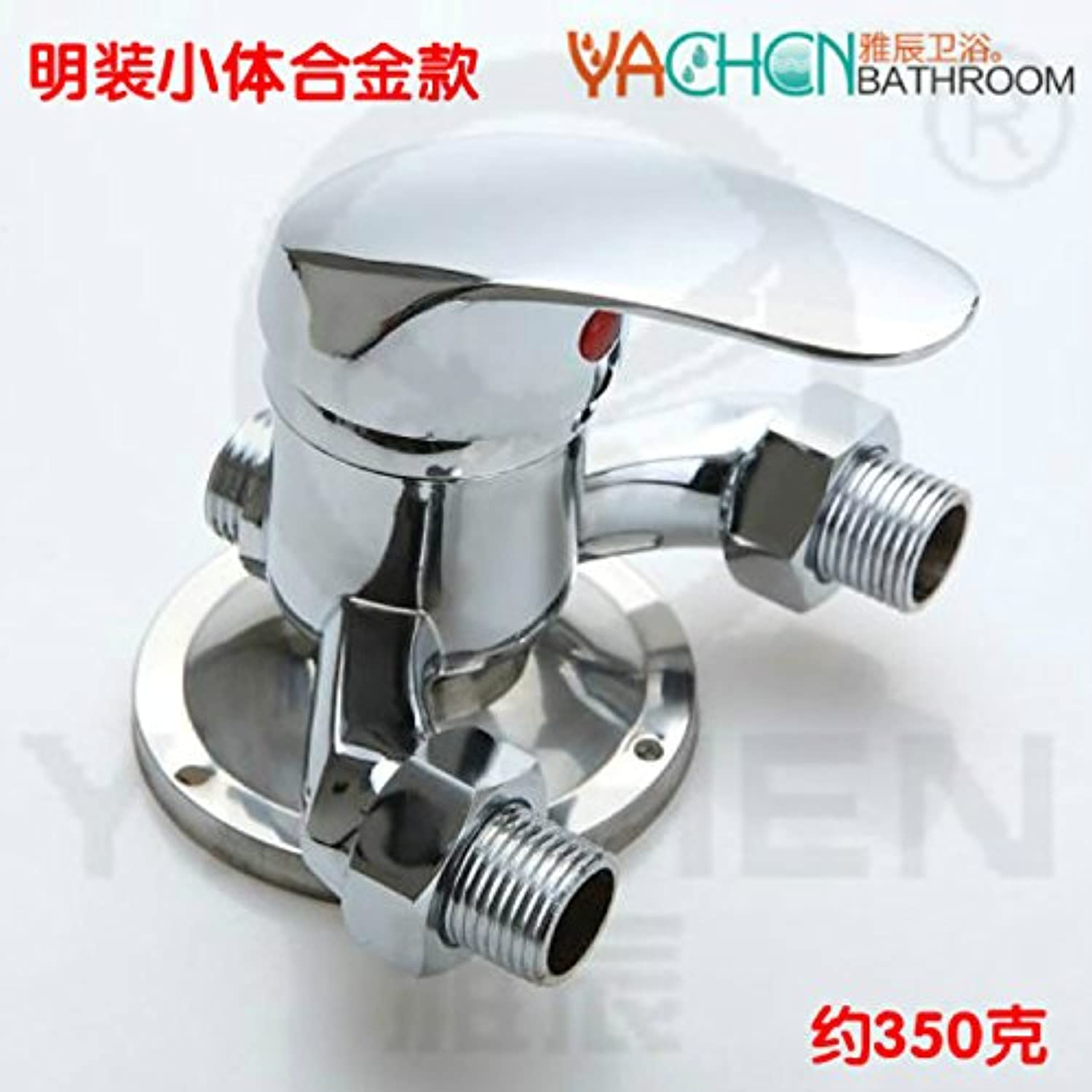 Gyps Faucet Single Lever Washbasin Mixer Tap Bathroom Fittings Copper in Shower Tap Shower and Cold Tap Shower Switch Valve Water Heating Water Mixing Zinc Alloy