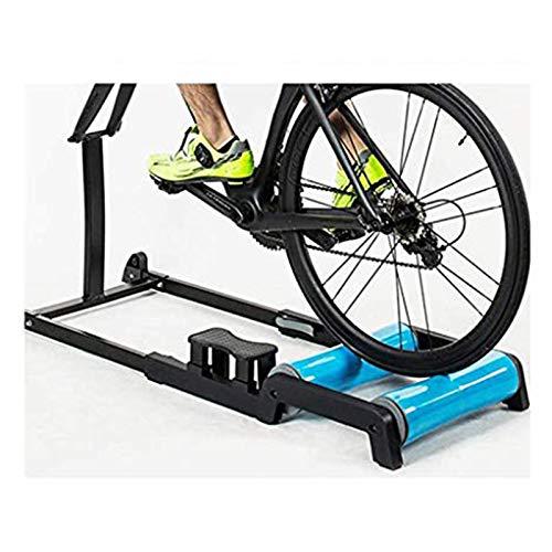 YYDE Vélo Formateur Stand intérieur vélo Formateur Stand équitation Stand Pliable vélos Exercice d'entraînement vélo Pliant vélo Rouleaux de Formation Support Formateur