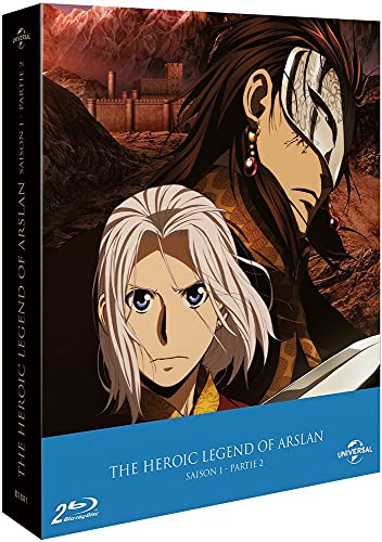 The Heroic Legend of Arslân - Saison 1 - Partie 2 [Italia] [Blu-ray]