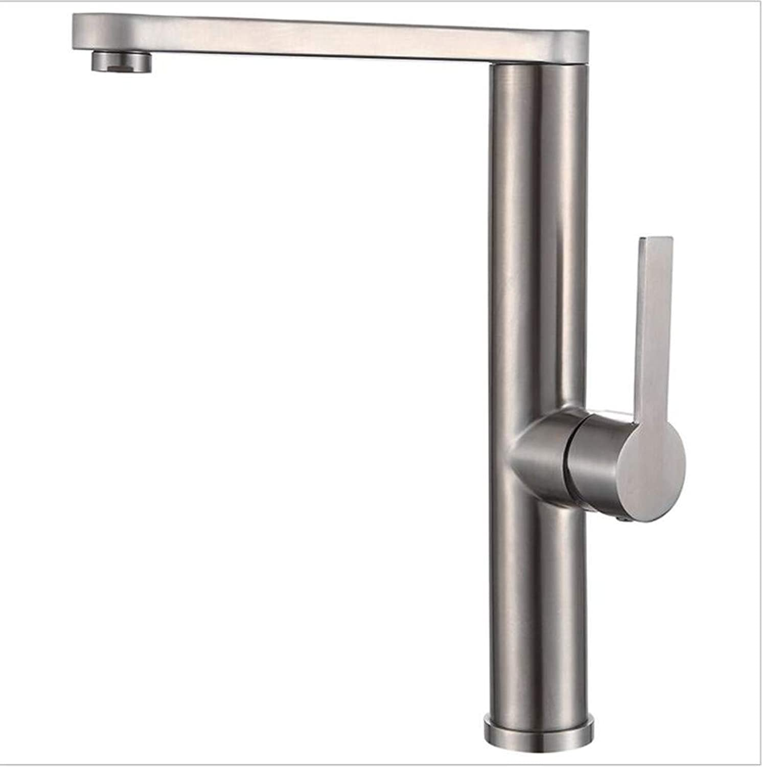 Bathroom Sink Basin Lever Mixer Tap Universal redary Point Three-Way Cold and Hot Water Faucet Kitchen Washing Pot Faucet