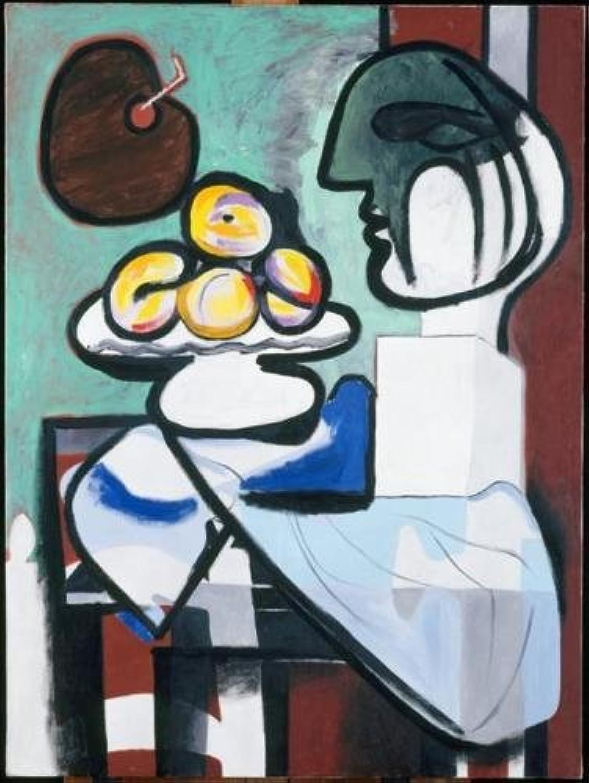 Still Life Bust Bowl 1932 Pablo Picasso  Poster Canvas Picture Art Print Premium Quality A4 A3 A2 A1 A0 (A0 Canvas (30 40))