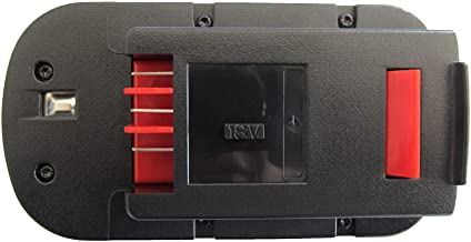 Sponsored Ad – 18V 3.0Ah Ni-MH Battery Compatible with Black & Decker A1718 A18 A18E A18NH HPB18 HPB18-OPE Firestorm FS180...