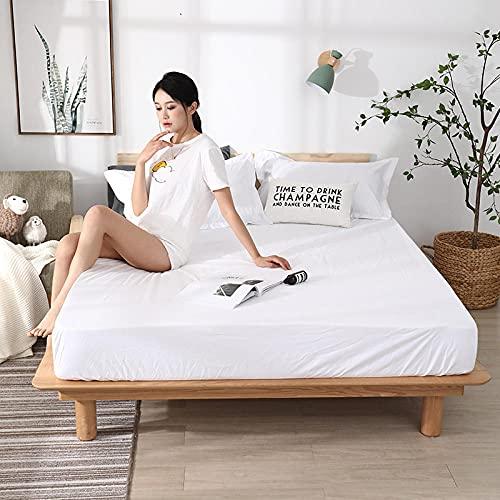 CYYyang colchón Acolchado, antialérgico antiácaros, Sábana Impermeable de un Solo Producto hotel-11_150cm × 190cm