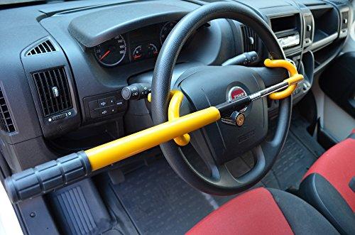 Streetwize TierXXL Auto Diebstahlsicherung Lenkradkralle Absperrstange (SWDH)