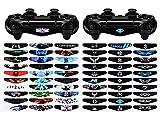 eXtremeRate 60 Piezas/Kit Adhesivo para PS4 Mando de la...